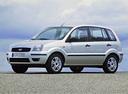 Фото авто Ford Fusion 1 поколение, ракурс: 45 цвет: серебряный