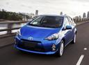 Фото авто Toyota Prius C 1 поколение, ракурс: 45