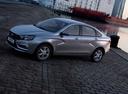 Фото авто ВАЗ (Lada) Vesta 1 поколение, ракурс: 45 цвет: серебряный