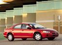 Фото авто Dodge Stratus 2 поколение, ракурс: 315 цвет: красный