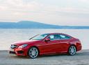 Фото авто Mercedes-Benz E-Класс W212/S212/C207/A207 [рестайлинг], ракурс: 45 цвет: красный