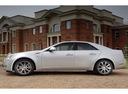 Фото авто Cadillac CTS 2 поколение, ракурс: 90 цвет: серебряный