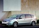 Фото авто Ford S-Max 1 поколение, ракурс: 45 цвет: серебряный