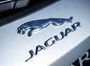 Фото авто Jaguar F-Pace 1 поколение, ракурс: шильдик цвет: серебряный