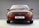 Фото авто Kia Spectra 1 поколение [рестайлинг],  цвет: бордовый