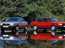Фото авто Audi 80 8A/B3, ракурс: 315 цвет: красный