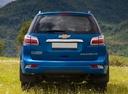 Фото авто Chevrolet TrailBlazer 2 поколение, ракурс: 180 цвет: синий