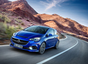 Фото авто Opel Corsa E, ракурс: 45 цвет: синий