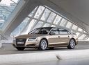 Фото авто Audi A8 D4/4H, ракурс: 45 цвет: сафари
