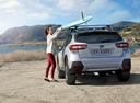 Фото авто Subaru XV 2 поколение, ракурс: 180 цвет: серебряный