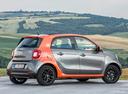 Фото авто Smart Forfour 2 поколение, ракурс: 225 цвет: серый