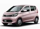 Фото авто Mitsubishi eK B11, ракурс: 45 цвет: розовый