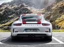 Фото авто Porsche 911 991 [рестайлинг], ракурс: 180 цвет: белый