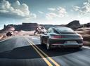 Фото авто Porsche 911 991 [рестайлинг], ракурс: 135 цвет: мокрый асфальт