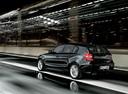 Фото авто BMW 1 серия E81/E82/E87/E88 [рестайлинг], ракурс: 135 цвет: черный