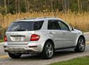 Фото авто Mercedes-Benz M-Класс W164 [рестайлинг], ракурс: 225 цвет: серебряный