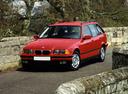 Фото авто BMW 3 серия E36, ракурс: 45 цвет: красный