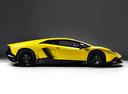 Фото авто Lamborghini Aventador 1 поколение, ракурс: 270 цвет: желтый