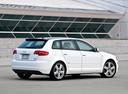 Фото авто Audi A3 8P/8PA [рестайлинг], ракурс: 225 цвет: белый