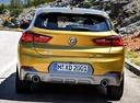 Фото авто BMW X2 F39, ракурс: 180 цвет: золотой
