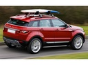 Фото авто Land Rover Range Rover Evoque L538, ракурс: 225 цвет: красный