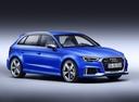 Фото авто Audi RS 3 8VA [рестайлинг], ракурс: 315 цвет: синий