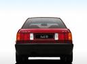 Фото авто Audi 80 8A/B3, ракурс: 180 цвет: красный