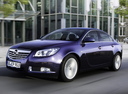 Фото авто Opel Insignia A, ракурс: 45 цвет: синий