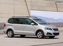 Фото авто SEAT Alhambra 2 поколение, ракурс: 315 цвет: серебряный