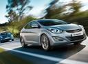 Фото авто Hyundai Elantra MD [рестайлинг], ракурс: 315 цвет: серебряный