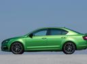 Фото авто Skoda Octavia 3 поколение [рестайлинг], ракурс: 90 цвет: зеленый
