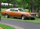 Фото авто Chevrolet Chevelle 2 поколение [3-й рестайлинг], ракурс: 315