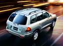 Фото авто Hyundai Santa Fe SM, ракурс: 225 цвет: серебряный