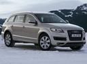 Фото авто Audi Q7 4L [рестайлинг], ракурс: 315 цвет: бежевый
