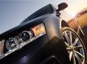 Фото авто Audi A6 4F/C6 [рестайлинг], ракурс: передние фары цвет: черный
