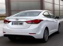 Фото авто Hyundai Elantra MD [рестайлинг], ракурс: 225 цвет: белый