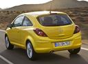 Фото авто Opel Corsa D, ракурс: 135 цвет: желтый
