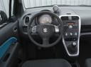 Фото авто Suzuki Splash 1 поколение, ракурс: рулевое колесо
