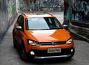 Фото авто Volkswagen Polo 5 поколение,  цвет: оранжевый