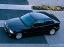 Фото авто BMW 3 серия E36, ракурс: сверху цвет: черный