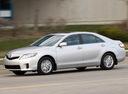 Фото авто Toyota Camry XV40 [рестайлинг], ракурс: 90 цвет: серебряный
