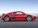 Фото авто Audi R8 2 поколение, ракурс: 270 цвет: красный