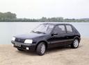 Фото авто Peugeot 205 1 поколение [рестайлинг], ракурс: 45