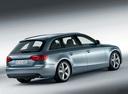 Фото авто Audi A4 B8/8K, ракурс: 225 цвет: голубой