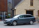 Фото авто Skoda Superb 2 поколение [рестайлинг], ракурс: 45 цвет: синий