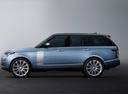 Фото авто Land Rover Range Rover 4 поколение [рестайлинг], ракурс: 90 - рендер цвет: голубой