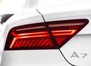 Фото авто Audi A7 4G [рестайлинг], ракурс: задние фонари цвет: белый