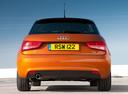 Фото авто Audi A1 8X, ракурс: 180 цвет: оранжевый