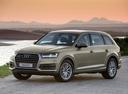 Фото авто Audi Q7 4M, ракурс: 45 цвет: бежевый