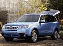 Фото авто Subaru Forester 3 поколение [рестайлинг], ракурс: 45 цвет: синий